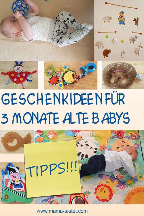 Geschenkideen für 3-6 Monate alte Babys, Geschenk 3 Monate