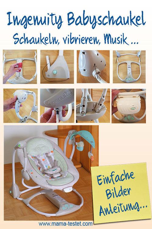 Ingenuity Babyschaukel Anleitung, Anleitung Ingenuity Babyschaukel, Babyschaukel Anleitung