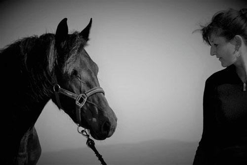 Martine et les chevaux
