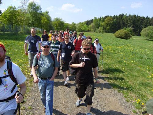Wandergruppe 2007