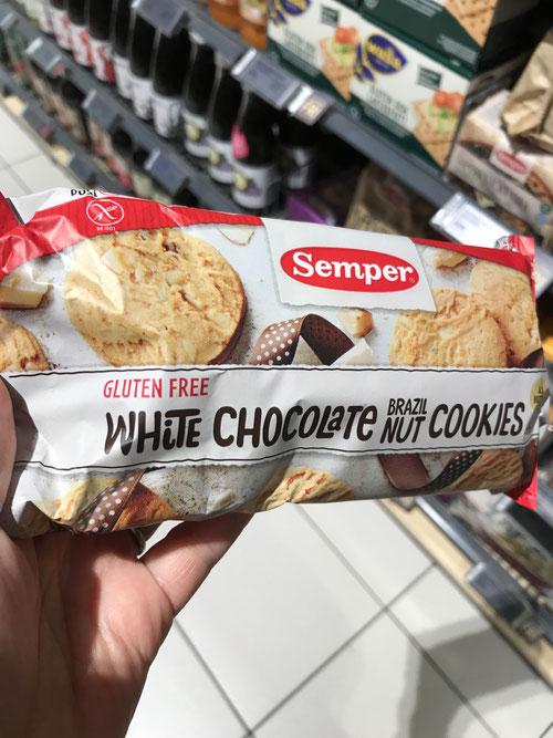 グルテンフリーのクッキーもフツーに売ってます!