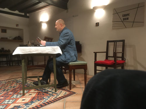 18. Okt. 2017 - Peter Fürhapper liest Franzobel