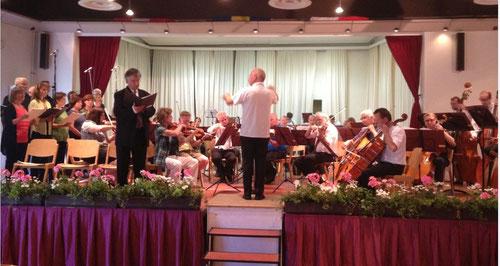 Die Ruinen von Athen - Der glorreiche Augenblick - 18. Juni 2014 - Orchester Stadl-Paura/Lambach, Coro LamBacchus Amandus, Dir. Reinhard Gruber