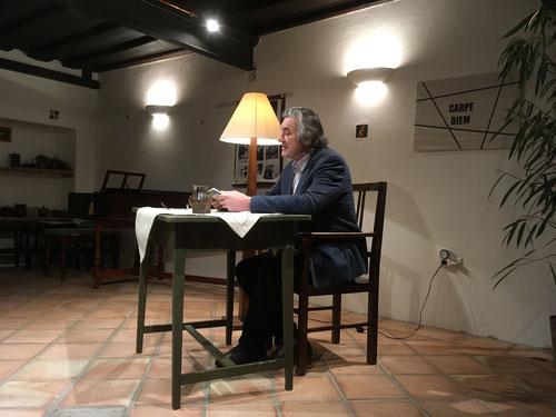 24. Jänner 2018 - Franz Strasser liest Selma Meerbaum-Eisinger