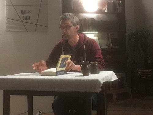 """29. Nov. 2017 - Stefan Haslinger liest aus """"Pu, der Bär"""""""