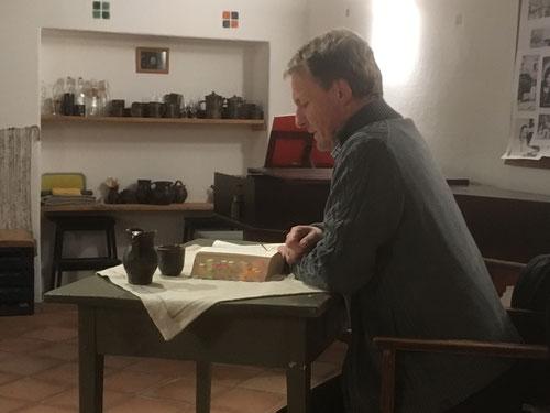 14. Februar 2018 - Franz Schöffmann liest aus Franz Werfel - Das Lied von Bernadette