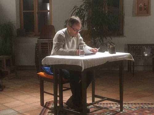 22. Nov. 2017 - Wieland Nordmeyer liest R. Carver: Short Cuts