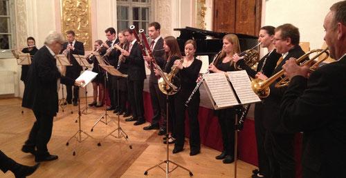 "Bläserkammermusik ""Ensemble Bruckner.s.Uni.versale"" mit dem Oktett op. 103 (18. Mai 2013)"