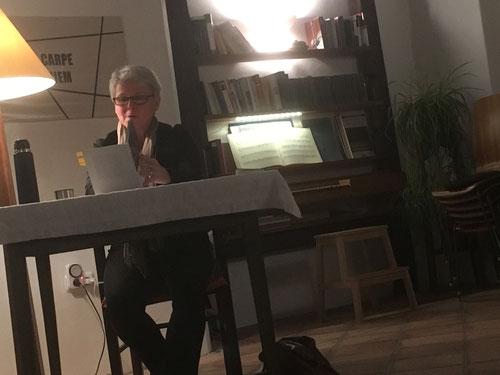 13. Dez. 2017 - Karin Lenglachner liest Franz Kain