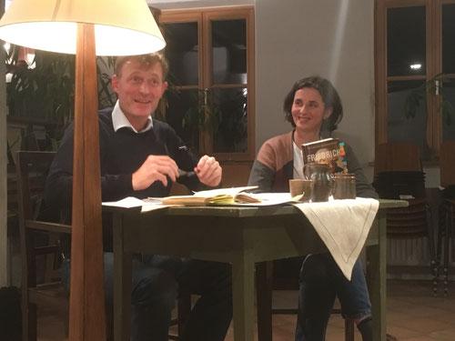 10. Jänner 2018 - Margot Graf und Klaus Oberndorfer lesen G. Fussenegger und T. Bendikowski