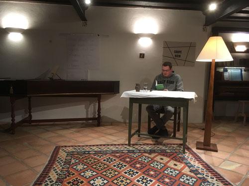 """4. Okt. 2017 - Florian Schöberl liest """"Magische Märchen"""""""