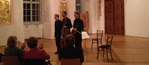 Streichtrios 1 - Georg Wimmer, Sebastian Führlinger u. Bertin Christelbauer (18. Okt 2014)