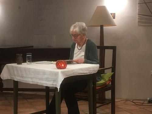 15. Nov. 2017 - Marianne Deinhammer liest Karl-Markus Gauß