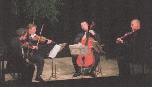 1. Saison 2007/08 - die legendären Streichquartette mit dem Tassilo-Quartett