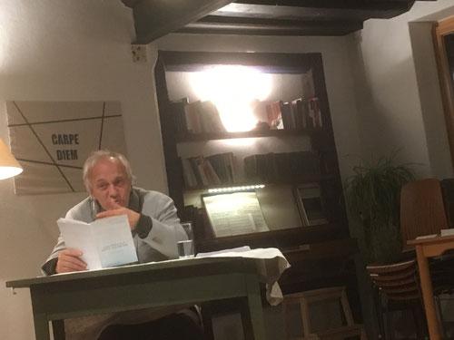 8. Nov. 2017 - Norbert Krennmair - Autorenlesung