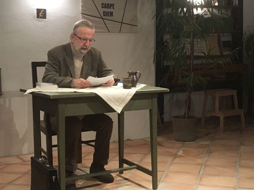 17. Jänner 2018 - Reinhard Wimmer liest Stefan Zweig