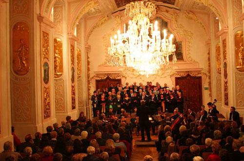 28. März 2015: Große Messe in C - St-Stephans-Chor Wels, Davidchor Eferding, Dirigent: Kurt Dlouhy