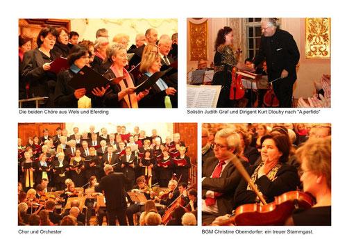 28. März 2015: Große Messe in C - einige Details           (Fotos: Edith Kiniger)