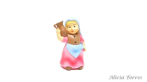 Mujer con jarra, de Naif