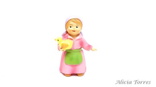 Pastora con pato, de Naif