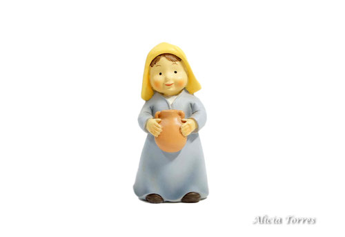 Mujer con cántaro, de Naif