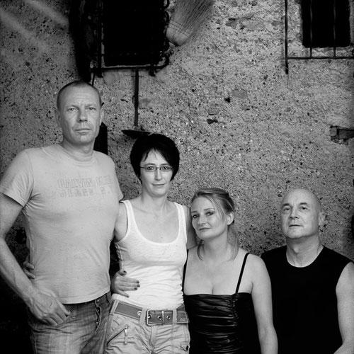 v.l.n.r.: Verocain, Anna L., Sonja Gläsener, Adriano Geiger