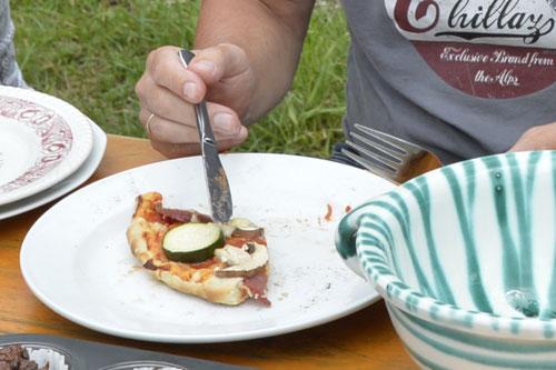 Lehmofen-Pizza Variante 6 - Sommer-Ferienprogramm St. Georgen bei Salzburg - Camilla Harfmann