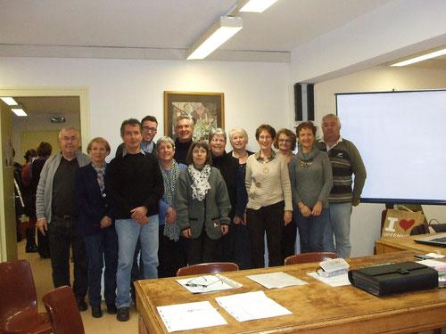Membres du comité de jumelage Egletons/Uffenheim