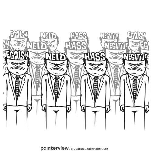 """Das painterview mit Justus Becker. Frage: """"Was macht Dich wütend?"""" #painterview #artikoo"""