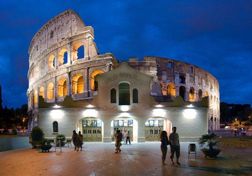 Roma imperial. Colisseum al Cine Imperial