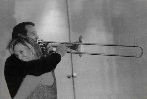 Paul Newman amb la Mercè