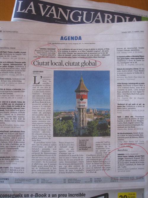 La Vanguardia 11-04-2012