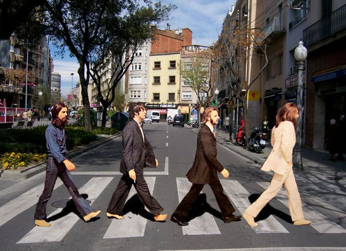 Beatles. Abbey Road. Passeig de la Plaça Major