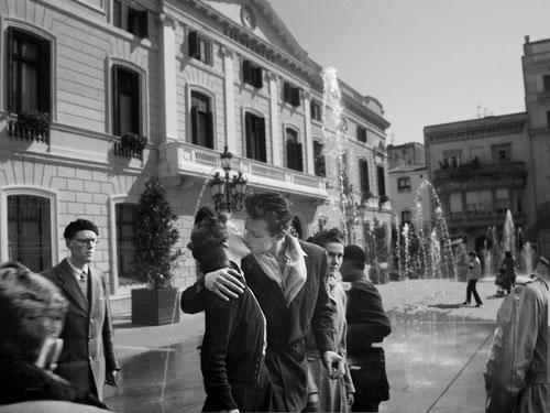 Le baiser de l´Hotel de Ville. Robert Doisneau. Ajuntament.