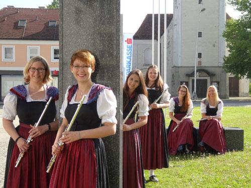 v.l.: Anna Wimmer, Elisabeth Gurtner, Isabella Leitner, Elisa Pichler, Christiane Murauer