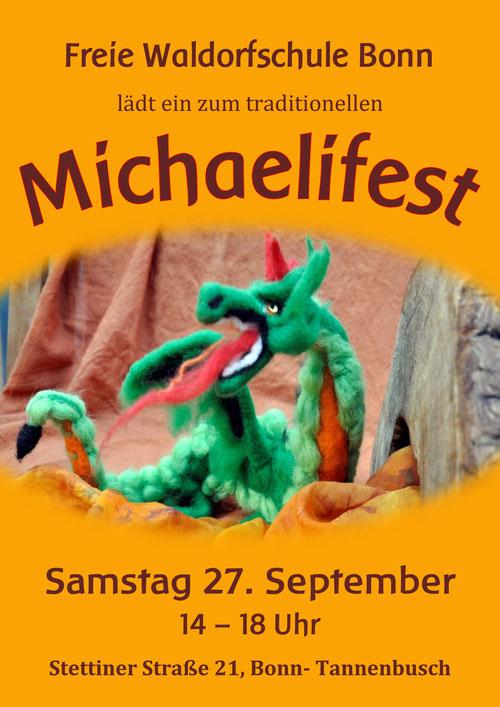 Die Freie Waldorfschule Bonn läd ein zum traditionellen Michaelifest: 27.9.14