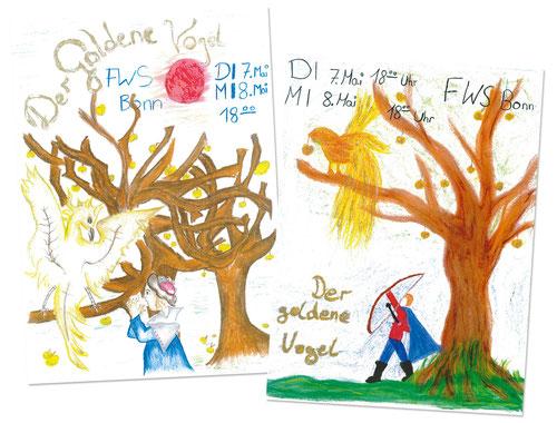 """Marionettentheater """"Der goldene Vogel"""", FWS Bonn"""