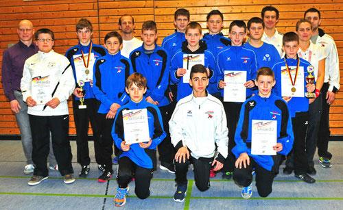 HRV-Team B-Jugend (Foto: Helmut Gasper; Quelle: HRV)