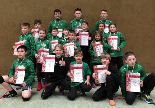 Team der Freistil-Meisterschaft