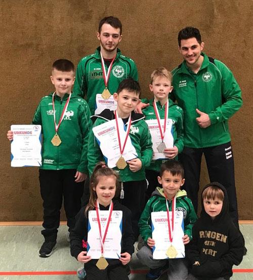Team A-, D- und E-Jugend greco in Schaafheim