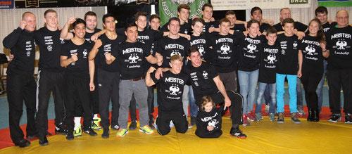 Das Meisterteam des KSV