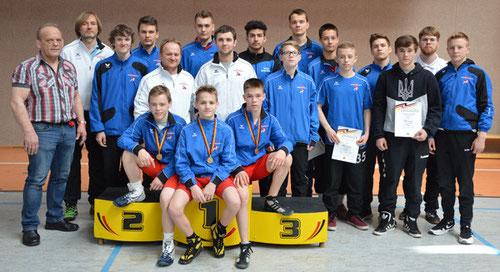 HRV-Team A-Jugend (Foto: Uli Bartos; Quelle: HRV)