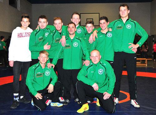 Das Meisterteam des KSV Seeheim - Foto: Helmut Gasper