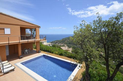 maison vacances begur 4 chambres vue mer begur villa avec piscine privée