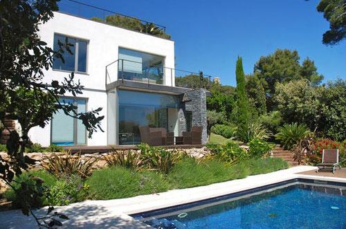 location vacances begur villa 8 personnes avec piscine privée
