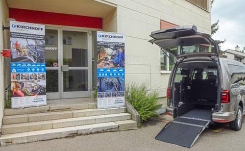 KIRCHHOFF Mobility, Stäfa - Eingang