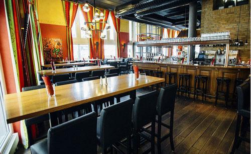 Restaurant Calanda Ansicht der Bar