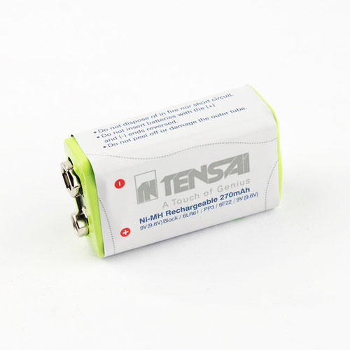 Tensai 9V (9.6V) КРОНА 270mAh