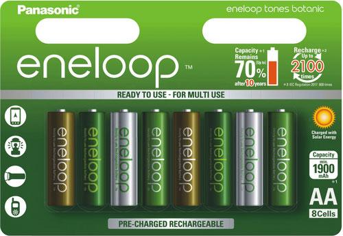 Panasonic Eneloop Tones Botanic