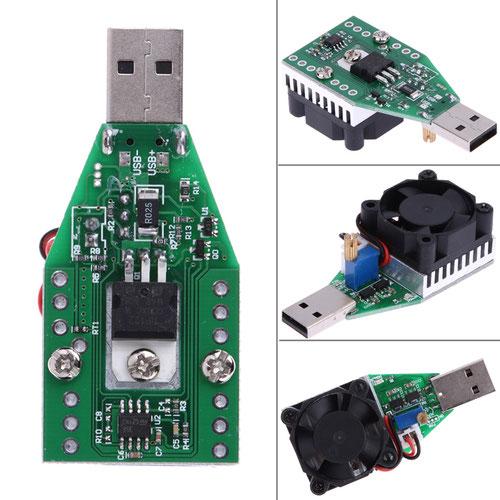 Нагрузочный резистор с плавной регулировкой тока